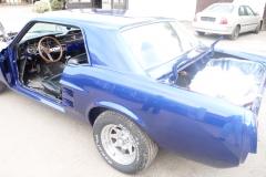 Mustang - Lakierowanie