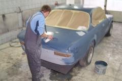 BMW2 Pierwsze Lakierowanie
