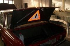 Mercedes 124 Składanie Wnętrza
