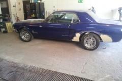 Mustang Przygotowanie do Lakierowania